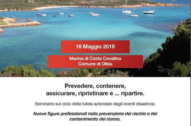tneG_Seminario - Il disastro senza perdita - Olbia 18 Maggio 2018