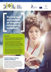 Strumenti pratici e orientamenti in materia di sostanze pericolose nei luoghi di lavoro - EU-OSHA